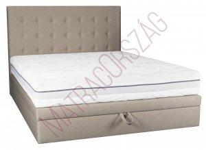 MO/GoldLine /Medium Only Box /ágyneműtartós Boxspring ágy fejvéggel, külön rendelhető matraccal / MatracOrszág