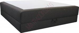 MO/GoldLine/Standard ágyneműtartós Boxspring ágy / rugós matraccal /Hotel ágy - MatracOrszág