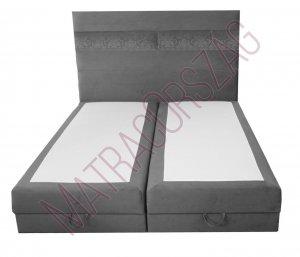 MO/GoldLine/Standard Box / ágyneműtartós Boxspring ágy fejvéggel / rugós matraccal - MatracOrszág