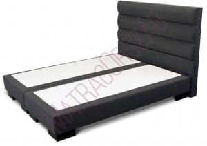 MO/GoldLine/Standard 2 / Boxspring ágy fejvéggel, külön rendelhető matraccal - MatracOrszág