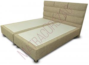 MO/GoldLine/Standard 3 / Boxspring ágy fejvéggel, külön rendelhető matraccal - MatracOrszág