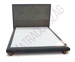 MO/GoldLine/Standard 6 / Boxspring ágy fejvéggel, külön rendelhető matraccal - MatracOrszág