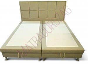 MO/GoldLine/Standard 7 / Boxspring ágyneműtartós ágy fejvéggel, külön rendelhető matraccal - MatracOrszág