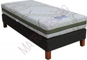 MO/GoldLine/Standard Bonell Boxspring ágy matraccal/ MatracOrszág/ (K)