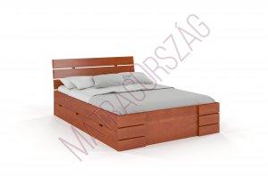 PL/Bükkfa / Tömörfa ágy/ágykeret/franciaágy / Genf / MatracOrszág