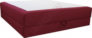 Standard ágyneműtartós boxspring ágy matraccal